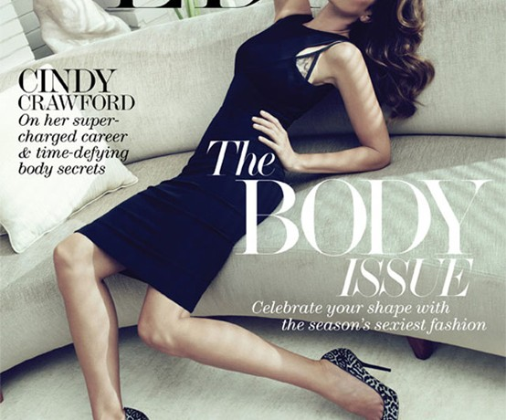 Cindy Crawford stuns in Victoria Beckham for Net a Porter's The Edit