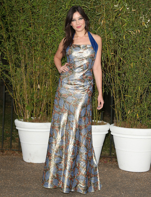Daisy Lowe sizzles at Serpentine summer soiree