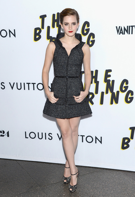 Emma Watson is chic in Chanel for Bling Ring LA premiere