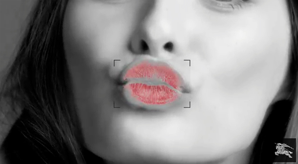 Burberry teams up with Google for 'Burberry Kisses'