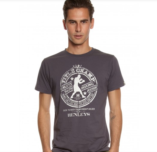 henleys the champ tee