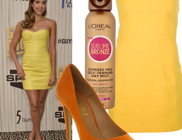 Get Jessica Alba's summer sexy Spike TV look