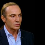 """I am trying to make amends in the best way that I can,"" John Galliano on Charlie Rose"