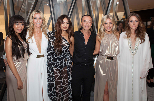 Julien Macdonald x Melissa Odabash debut Resort 2014 collection in London