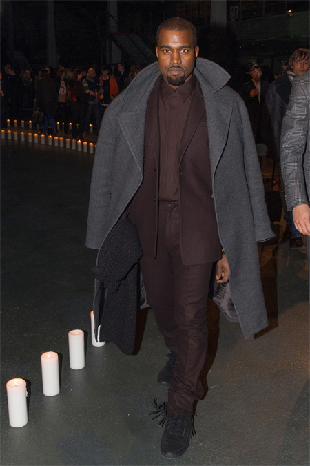 "Kanye West on his new menswear collection and, erm, being ""a God"""
