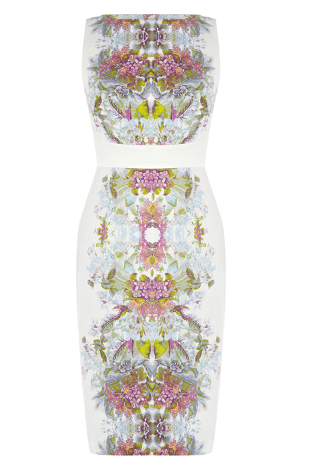 Lunchtime Buy: Karen Millen floral print cotton dress