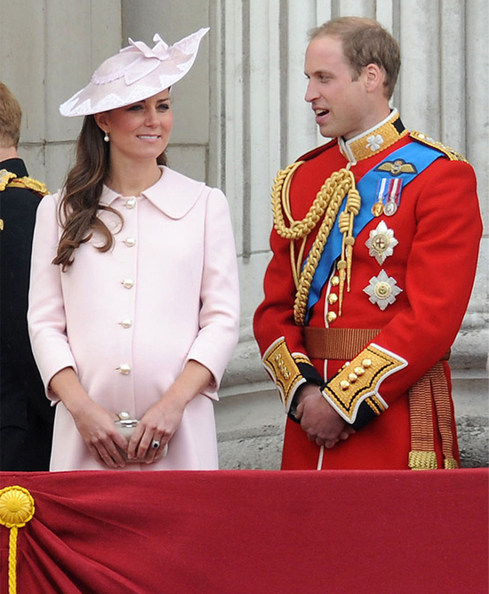Kate Middleton wears custom Alexander McQueen for Trooping the Colour