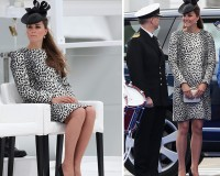 Kate Middleton wows in Hobbs for Princess Cruises ceremony