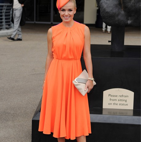 Katherine Jenkins gets it right in Roksanda Ilincic at Royal Ascot