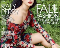 Katy Perry romantic in Rodarte for her American Vogue debut!