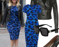 Get Kimberley Walsh's leopard bodycon look