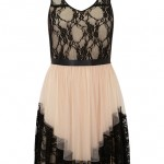 Lunchtime Buy: Dorothy Perkins Collection Nude Lace Tuille Dress