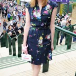 Laura Carmichael wows at Wimbledon in Erdem