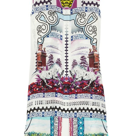 Lunchtime Buy:  Mary Katrantzou Gloria Silk-Georgette Shirtdress