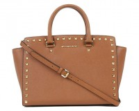 Lunchtime Buy: Michael Kors Selma studded saffiano satchel