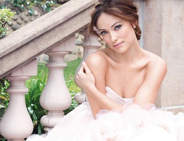 Olivia Wilde is the blushing bride for Avon's Amour fragrance