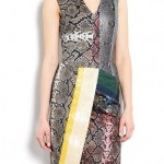 Buy of the Week: Preen v neck fitted python panel shift dress