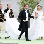 Valentino dresses royal bride!