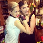 Are Cara Delevingne and Rita Ora designing a clothing line?