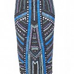 Lunchtime Buy: River Island Blue Mirror Embellished Pencil Skirt