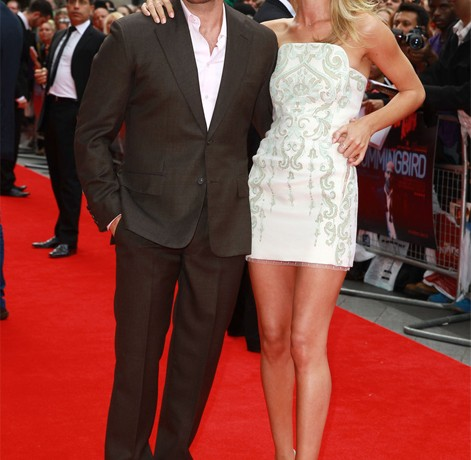 Rosie Huntington Whiteley upstages bf Jason Statham at Hummingbird premiere