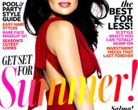 Salma Hayek is InStyle US's July cover star for the second year in a row