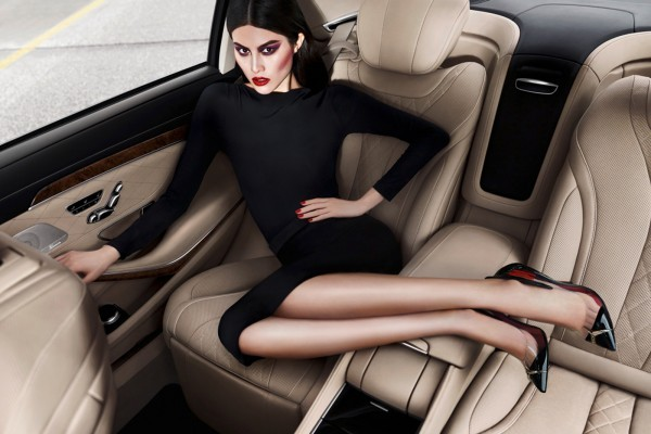 Carine Roitfeld turns designer and director for Mercedes Benz