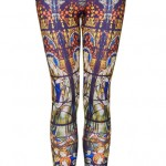 Lunchtime Buy: Topshop stain glass print leggings