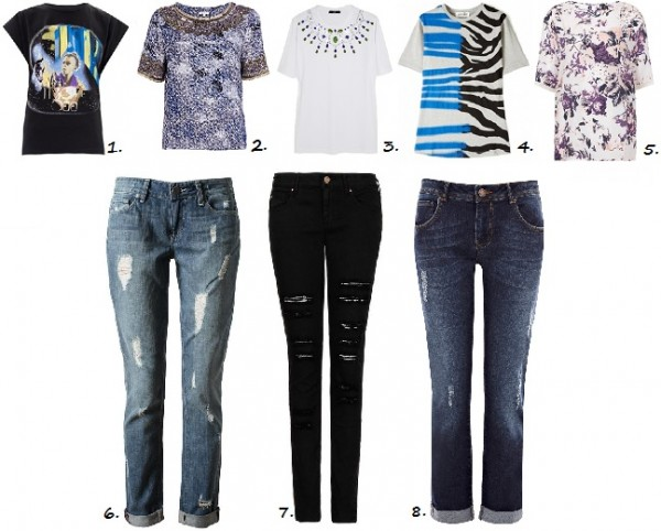 Down to a T: 5 statement t-shirts and 3 distressed jeans you need right now!