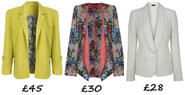 10 blazers under £100!