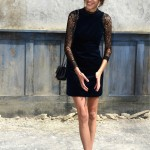 Alexa Chung does Chanel chic at the Grand Palais in Paris