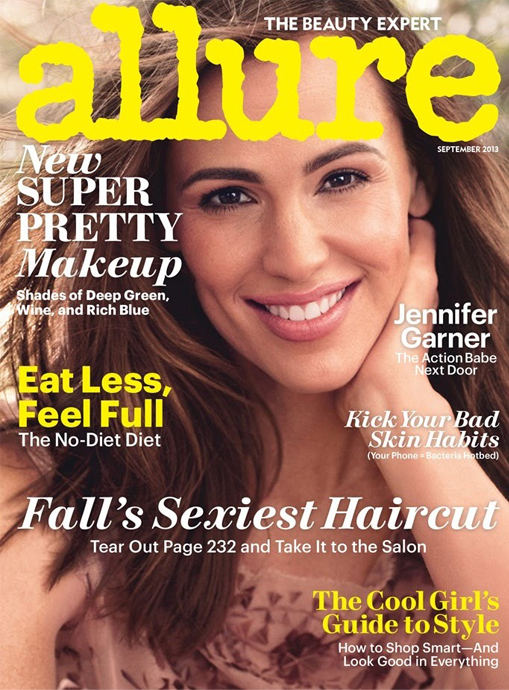 allure september jennifer garner
