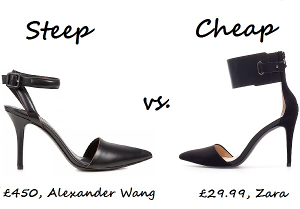 ankle pumps steep v cheap