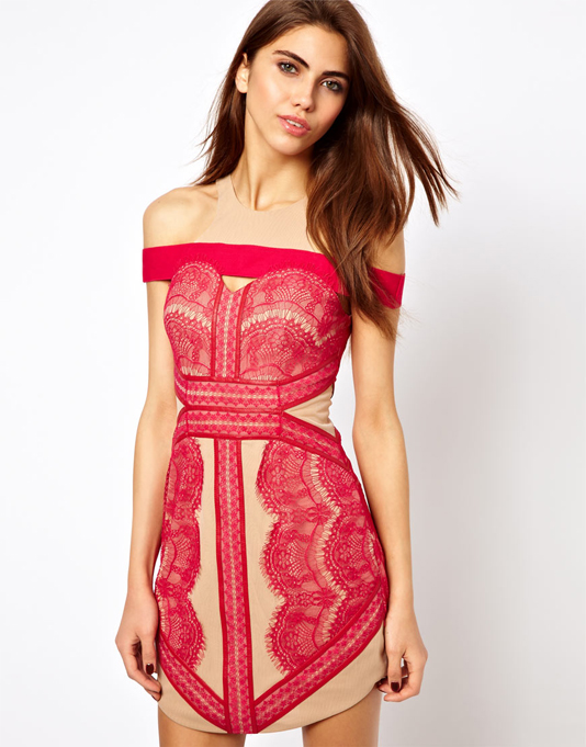 Lunchtime Buy: Asos Three Floor mischief lace dress