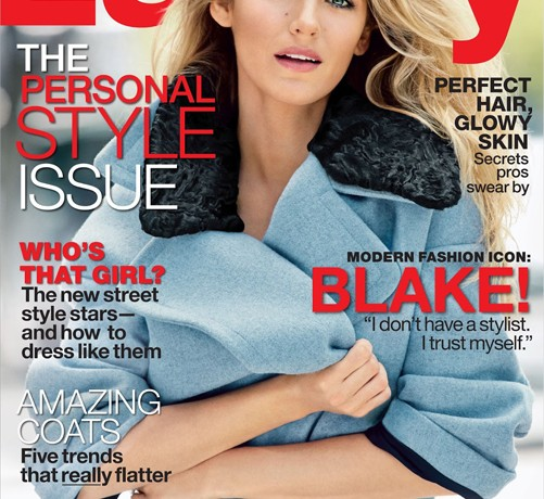 Blake Lively talks Ryan Reynolds and her evolving style in Lucky's September 2013 issue