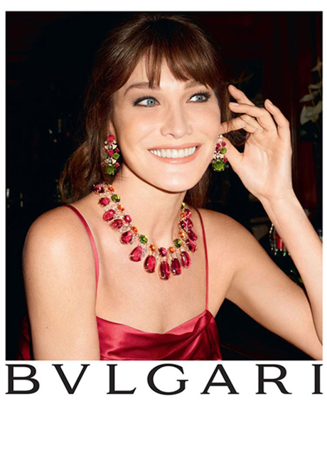 First look: Carla Bruni Sarkozy's Bulgari jewellery ad campaign