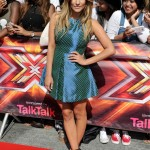 Caroline Flack does British summer dressing right in Jaeger