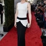 Cate Blanchett wows in monochrome Alexander McQueen