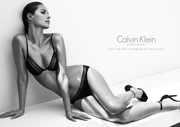 Christy Turlington is back for Calvin Klein Underwear!