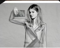 Rankin shoots French Connection's 'From Sketch to Store' AW13 ad campaign