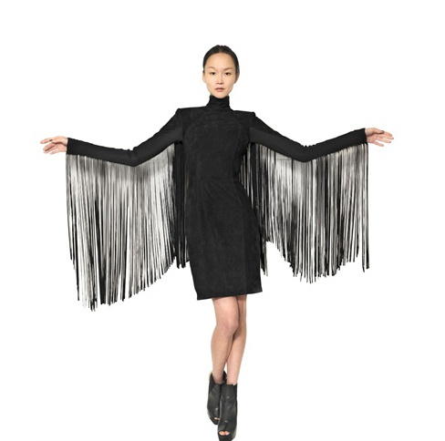 gareth-pugh-fringe-dress