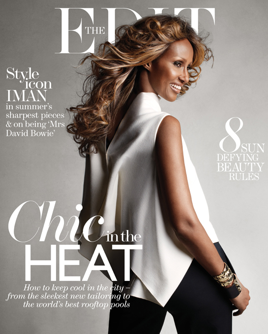 """I'm not a model anymore. I'm just me,"" Iman tells The Edit"