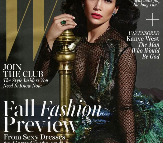 Jennifer Lopez is Gucci gorgeous for W's August issue