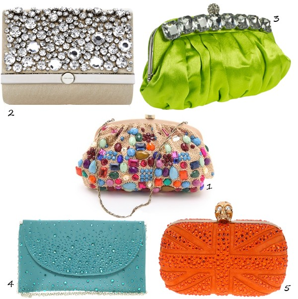 5 jewelled clutches you need now!