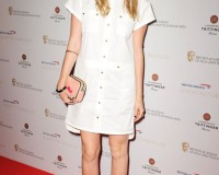 Laura Whitmore does casual cool in white Gerard Darel