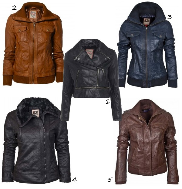 5 of the best leather jackets under £100
