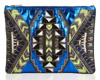 Buy of the Week: Matthew Williamson embellished metallic leather clutch
