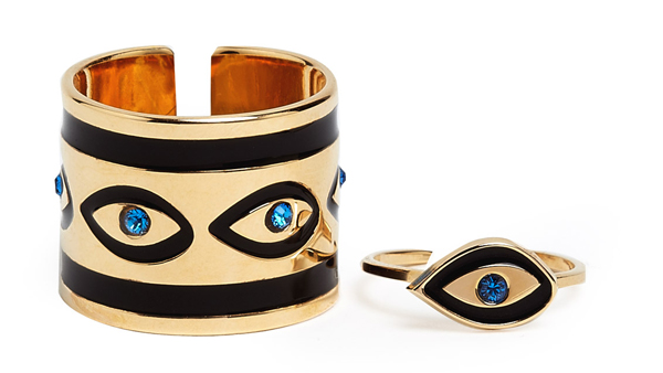 Lunchtime Buy: MFP MariaFrancescaPepe eyes ring set