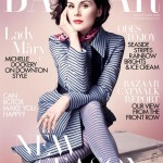 Downton Abbey's Michelle Dockery for Harper's Bazaar UK August