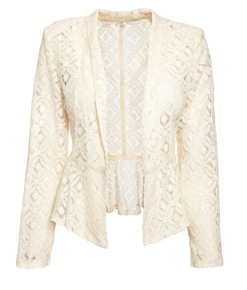 Lunchtime Buy: Next cream lace peplum jacket